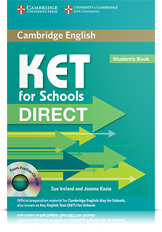 Korice knjige KET for Schools Direct Student's Book with CD-ROM