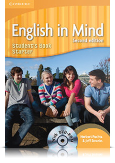 Korice knjige English in Mind Second edition Starter Level - Student's Book with DVD-ROM