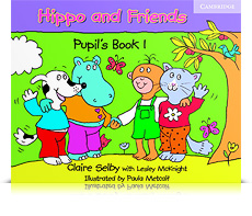 Korice knjige Hippo and Friends