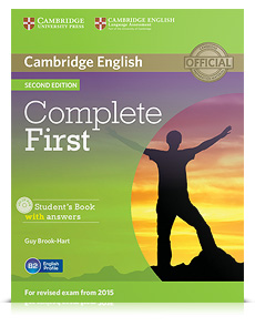 Korice knjige Complete First Second edition - Student's Book with answers with CD-ROM