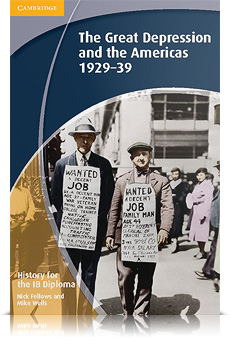 Korice knjige History for the IB Diploma: The Great Depression and the Americas 1929-39