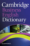 Korice knjige Cambridge Business English Dictionary Paperback