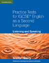 Korice knjige Practice Tests for IGCSE English as a Second Language: Listening...