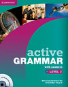 Korice knjige Active Grammar Level 3 Book with answers and CD-ROM