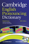 Korice knjige Cambridge English Pronouncing Dictionary 18th Edition Paperback...