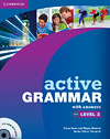 Korice knjige Active Grammar Level 2 Book with answers and CD-ROM