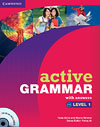 Korice knjige Active Grammar Level 1 Book with answers and CD-ROM