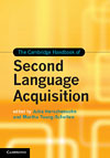Korice knjige The Cambridge Handbook of Second Language Acquisition