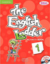 Korice knjige The English Ladder Level 1 Activity Book with Songs Audio CD