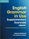 Korice knjige English Grammar in Use Supplementary Exercises 3rd Edition Book...