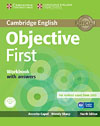 Korice knjige Objective First Fourth edition - Workbook with answers with Audio CD