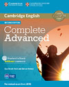 Korice knjige Complete Advanced Second edition - Student's Book without answers with CD-ROM