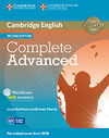 Korice knjige Complete Advanced Second edition - Workbook with answers with Audio CD