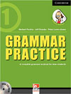 Korice knjige Grammar Practice Level 1 Paperback with CD-ROM: A Complete...