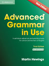 Korice knjige Advanced Grammar in Use 3rd Edition Book with answers